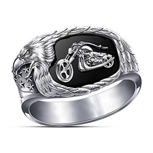 Cycolinks Alloy Motorcycle Biker Ring - Cycolinks