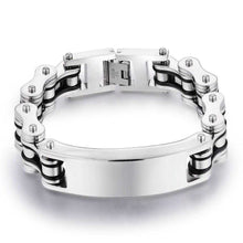 Load image into Gallery viewer, Cycolinks Custom 16mm Men's Personalised ID Bracelet - Cycolinks