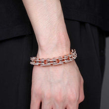 Load image into Gallery viewer, Cycolinks Bling 18mm Cubic Zirconia Bike Chain Bracelet - Cycolinks