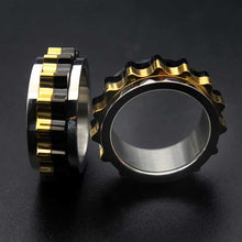 Load image into Gallery viewer, Cycolinks Titanium Steel Rotating Gear Ring - Cycolinks