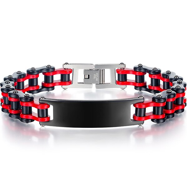 Cycolinks Gnarly Personalised Bike Chain ID Bracelet - Cycolinks