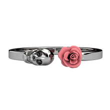 Load image into Gallery viewer, Cycolinks Skull Rose Ring - Cycolinks