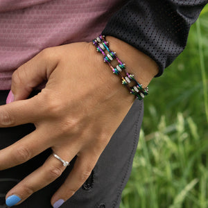Cycolinks Rainbow Crystal Bracelet - Cycolinks