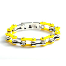 Load image into Gallery viewer, Cycolinks Yellow Crystal Bracelet - Cycolinks