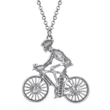 Load image into Gallery viewer, Cycolinks Skeleton Biker Necklace - Cycolinks