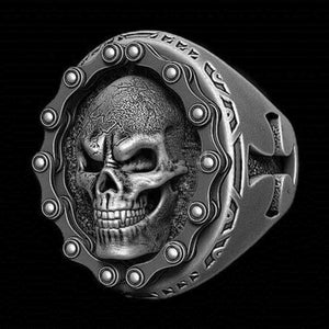 Cycolinks Titanium Steel Skull Chain Ring - Cycolinks