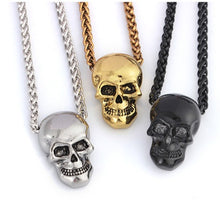 Load image into Gallery viewer, Cycolinks Punk Skull Necklace - Cycolinks