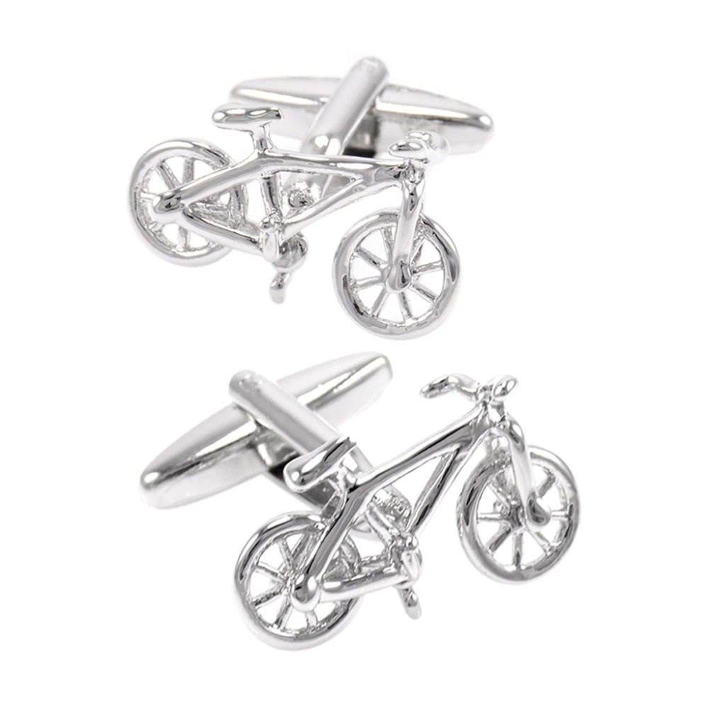 Cycolinks Bicycle Cuff Links - Cycolinks