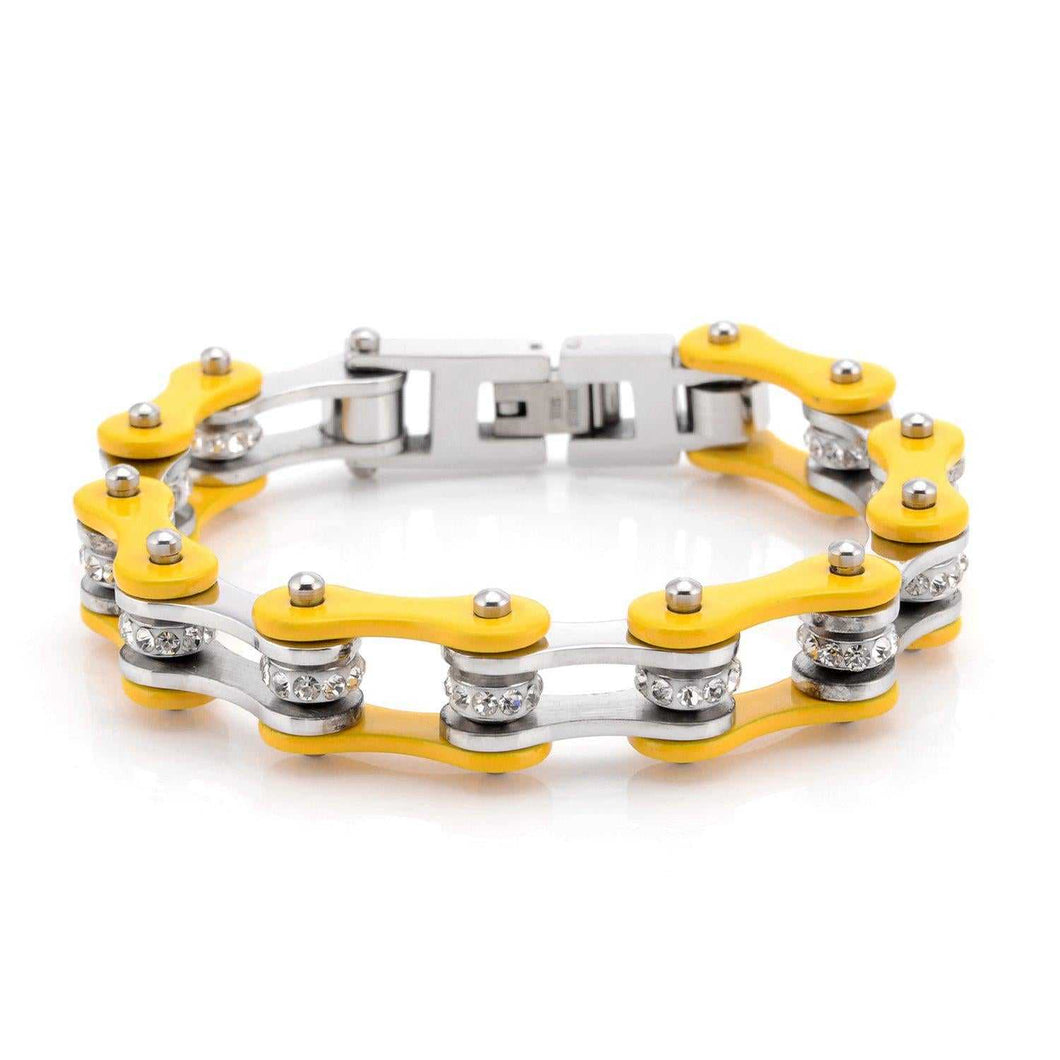 Cycolinks Yellow Crystal Bracelet - Cycolinks