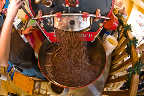 Rock Creek Coffee roasts their beans in small batches for the best coffee in Billings and more!