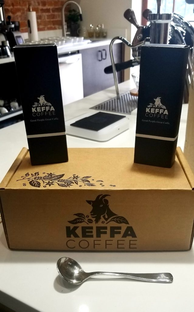 Keffa Coffee - Ethiopian coffee for us!