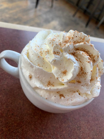 Enjoy Montana coffee at its finest with this eggnog latte!