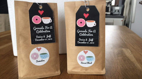 Love is in the air at Rock Creek Coffee Roasters