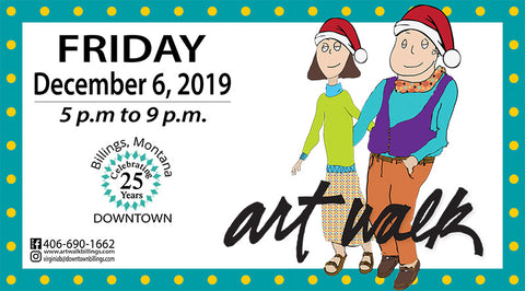 Enjoy Artwalk in Downtown Billings