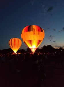 Drink great coffee from Rock Creek Coffee Roasters and see hot air balloons in Billings!