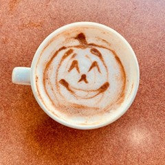 It's Pumpkin Spice Latte time at Rock Creek Coffee Roasters!
