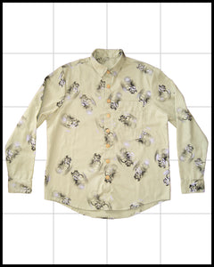 Flower Shirt 2Pocket