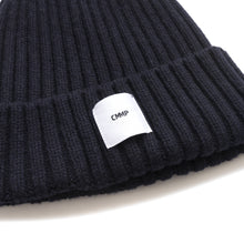 Load image into Gallery viewer, Recycled Cashmere Beanie - Navy