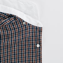 Load image into Gallery viewer, Blue / Brown Gingham Shirt