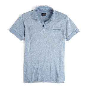 Sky Blue Poolside Polo