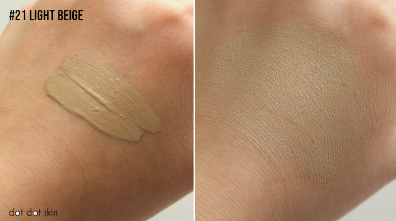 swatches purito cica clearing bb cream light beige
