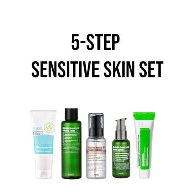 korean skincare set sensitive skin