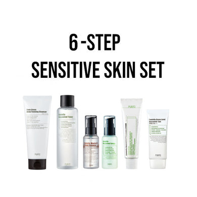 purito sensitive skincare set