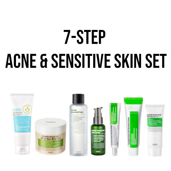 acne sensitive skincare set