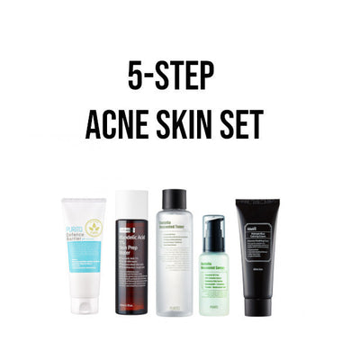 korean acne skincare set