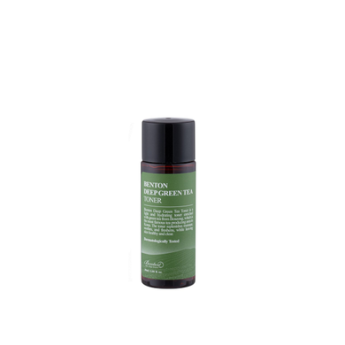 benton green tea toner mini