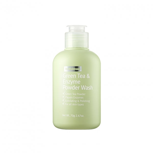 by Wishtrend Green Tea & Enzyme Powder Wash exfoliator cleanser
