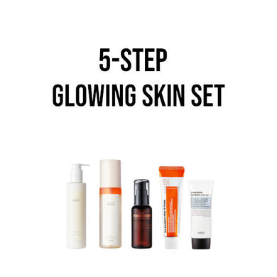 korean skincare set glowy skin