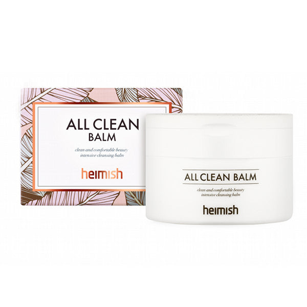 Heimish all clean balm, first cleanse. It is natural and paraben free. It removes makeup.