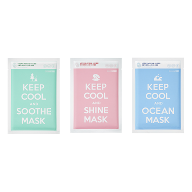 keep cool sheet mask