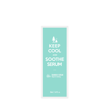Load image into Gallery viewer, keep cool soothe bamboo serum ingredients