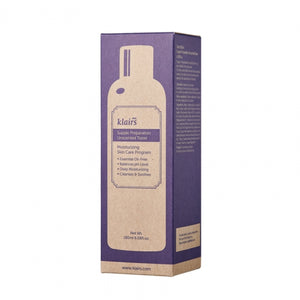 Klairs Supple Preparation Unscented Toner.