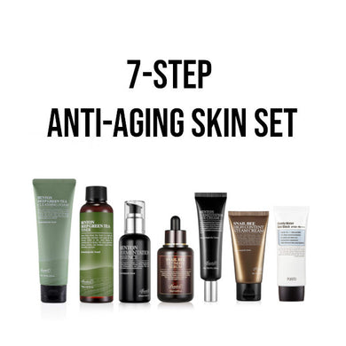 anti-aging korean skincare set