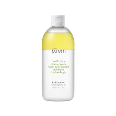 make prem radiance me cleansing water oil