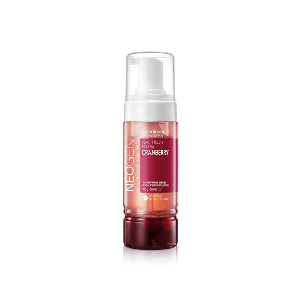 neogen real fresh foam cleanser cranberry