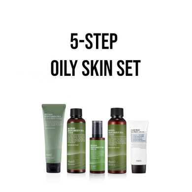oily korean skincare set