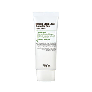 purito green level unscented sun