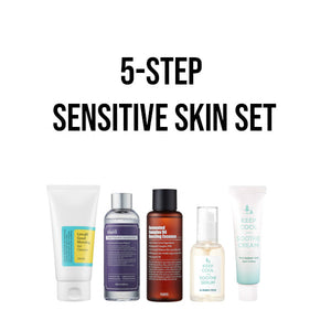 sensitive korean skincare set