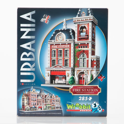 3D Puzzle by Wrebbit: Urbania Collection