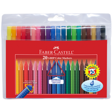 Load image into Gallery viewer, Faber-Castell - 20 GRIP Color Markers