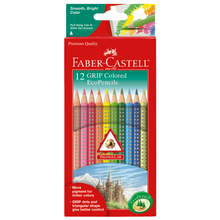 Load image into Gallery viewer, Faber-Castell - 12 GRIP Colored EcoPencils