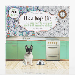 It's a Dog's Life - Coloring/Sticker Book