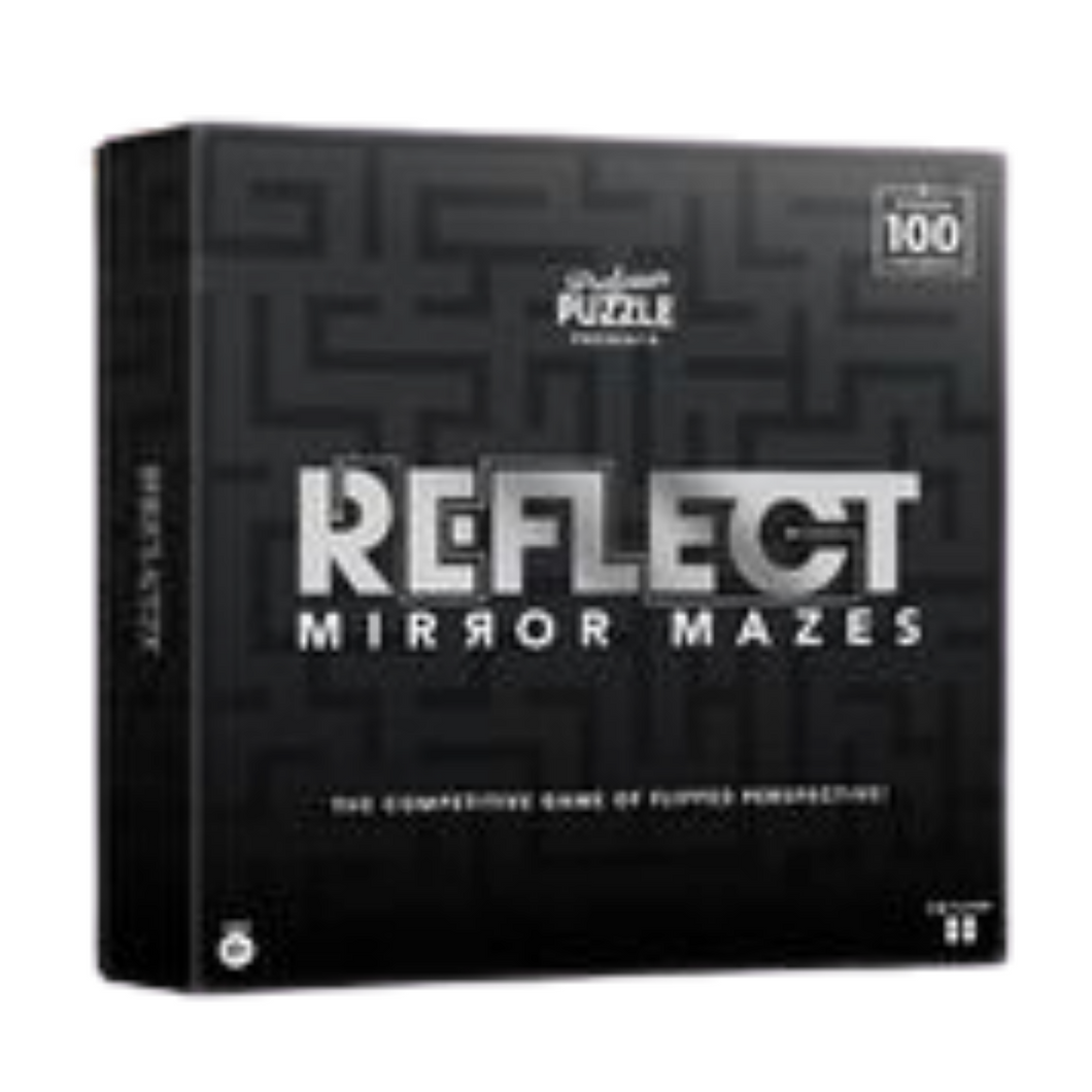 Reflect Mirror Mazes by Professor Puzzle