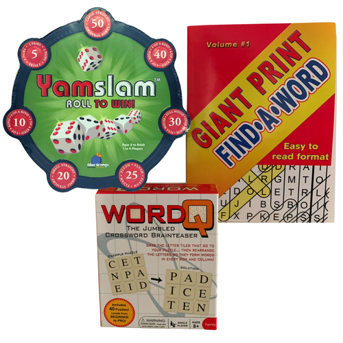 Solo Games and Activities Kit