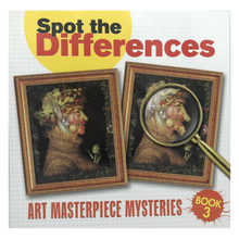 Load image into Gallery viewer, Spot the Differences: Art Masterpiece Mysteries Book