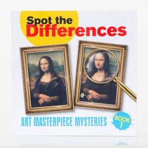 Spot the Differences: Art Masterpiece Mysteries Book